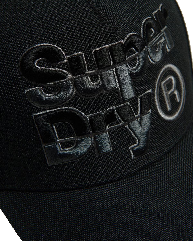 Superdry Mega Logo Herren Cap – Bild 2
