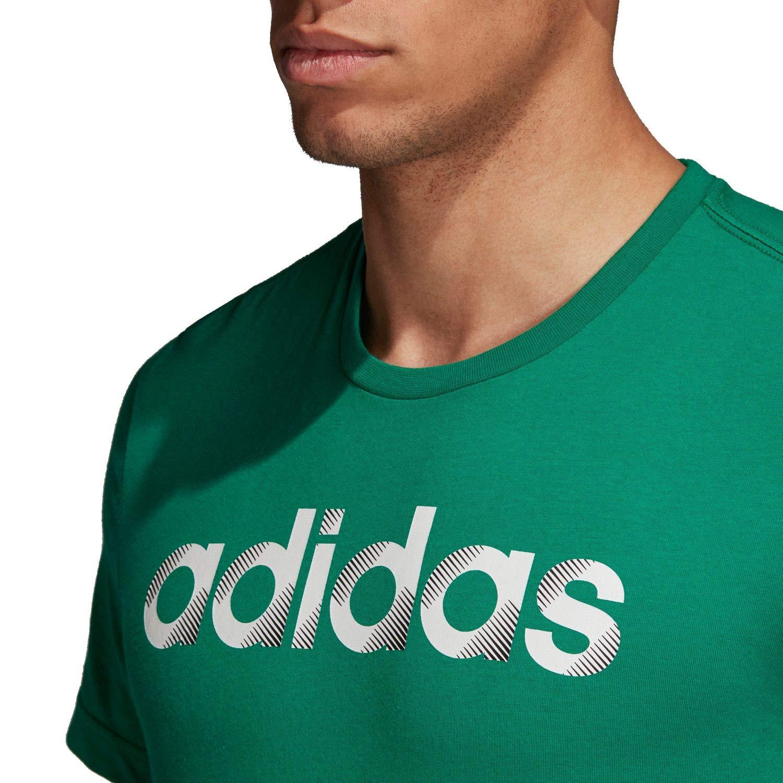adidas Sliced Linear Herren T-Shirt – Bild 4