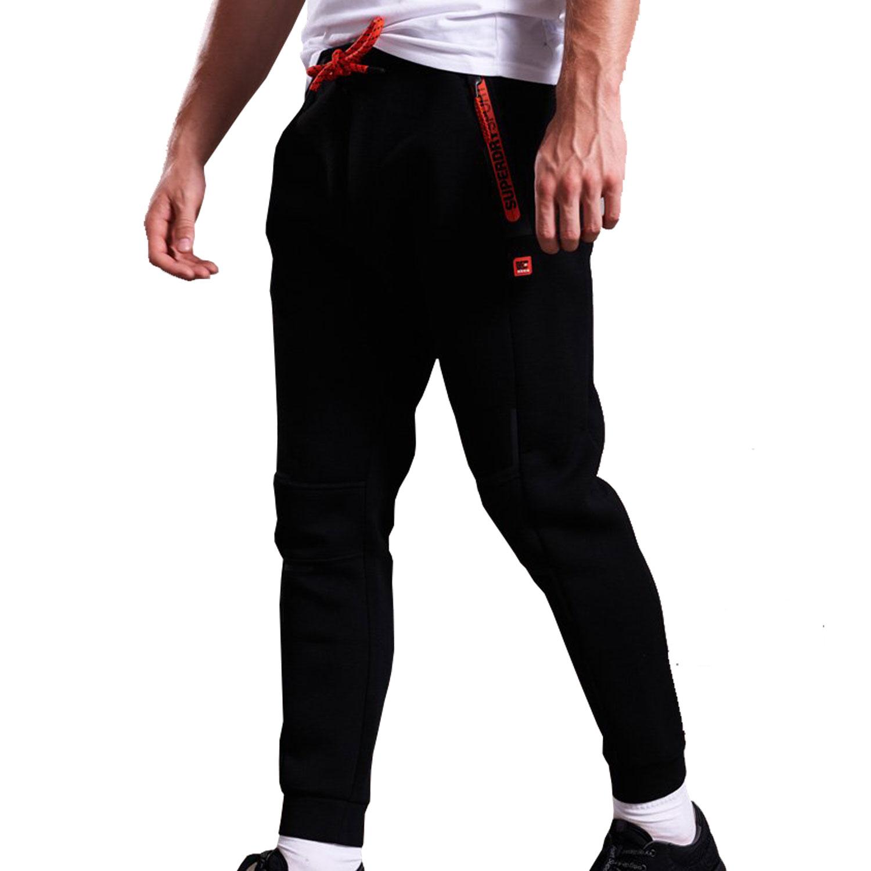 Superdry Gym Tech Stretch Herren Jogginghose – Bild 2