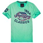 Superdry High Flyers Slub Herren T-Shirt
