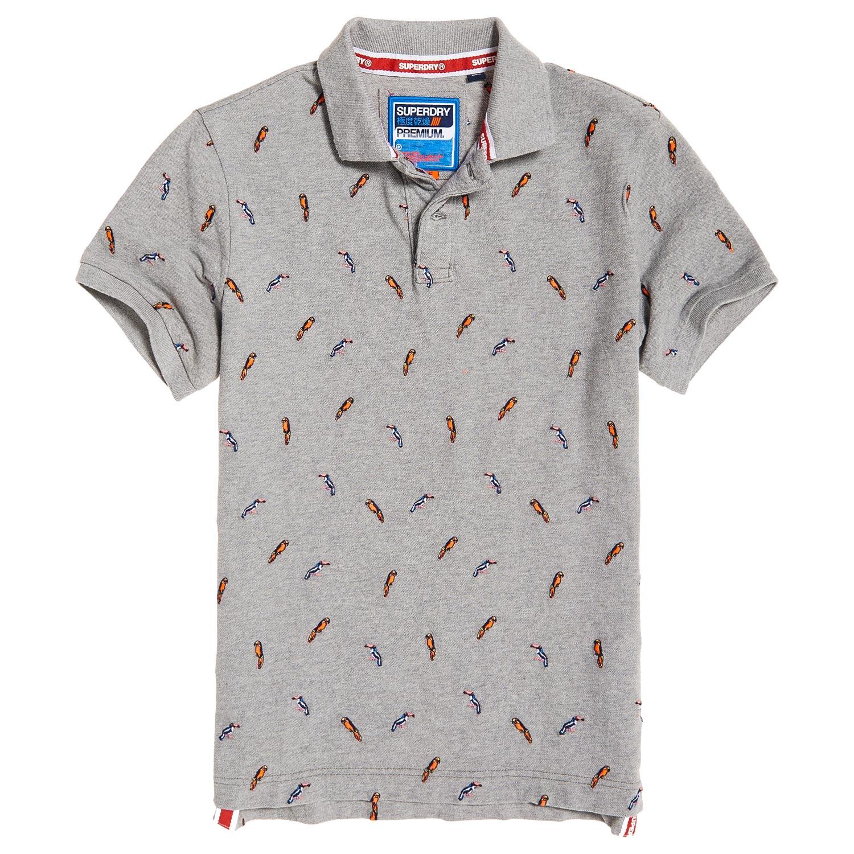 Superdry Bermuda  Herren Polohemd T-Shirt