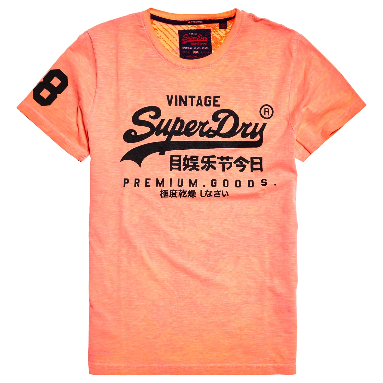 Superdry Premium Goods Mid Weight Herren T-Shirt