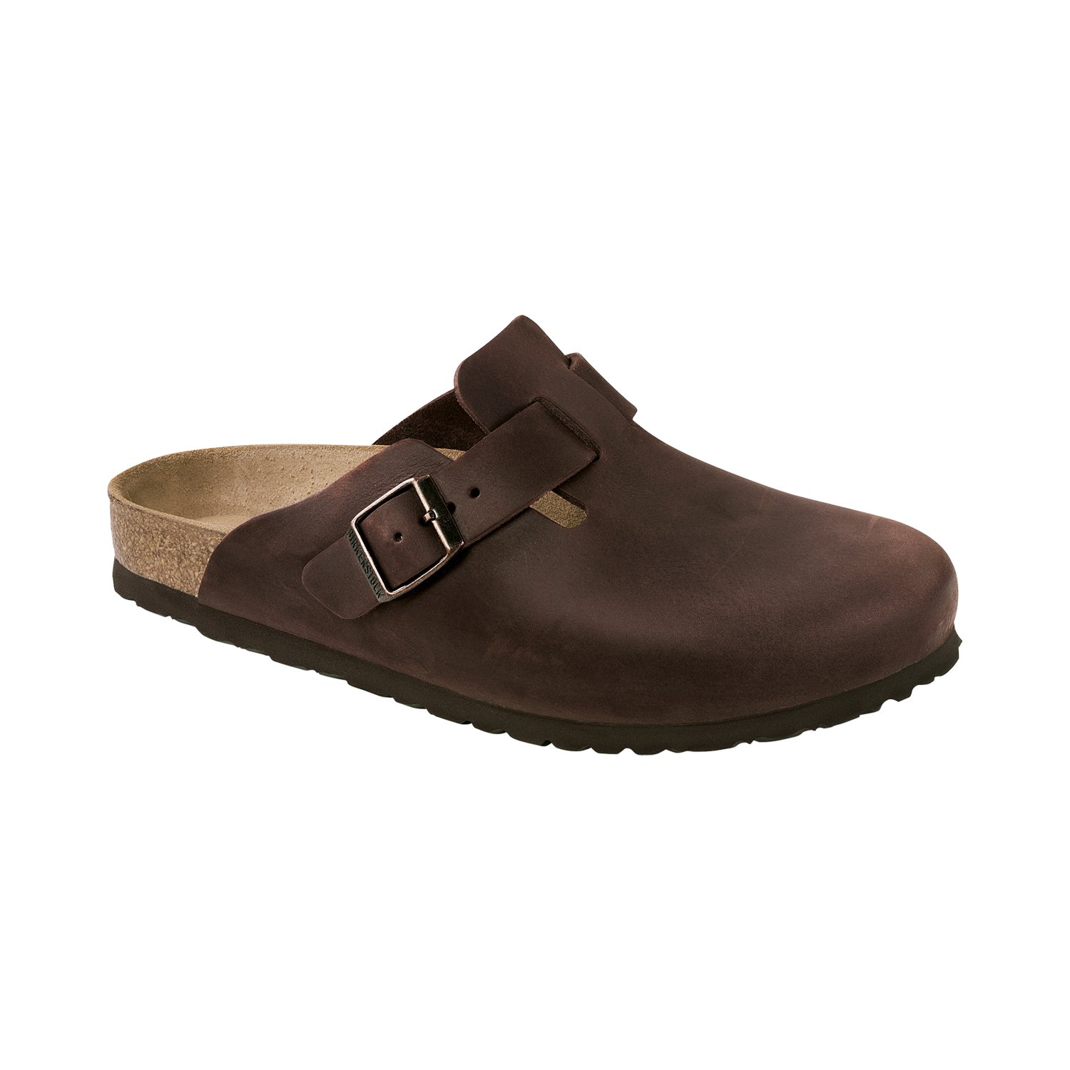 Birkenstock Boston Oiled Leather Herren Pantolette
