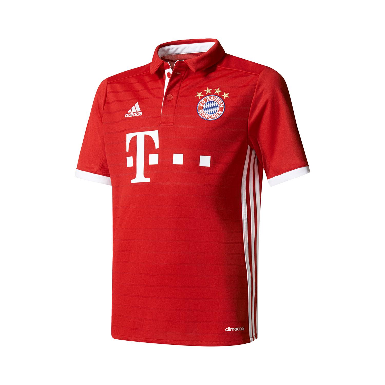 Adidas FCB Home Jersey FC Bayern Kinder Heimtrikot – Bild 1