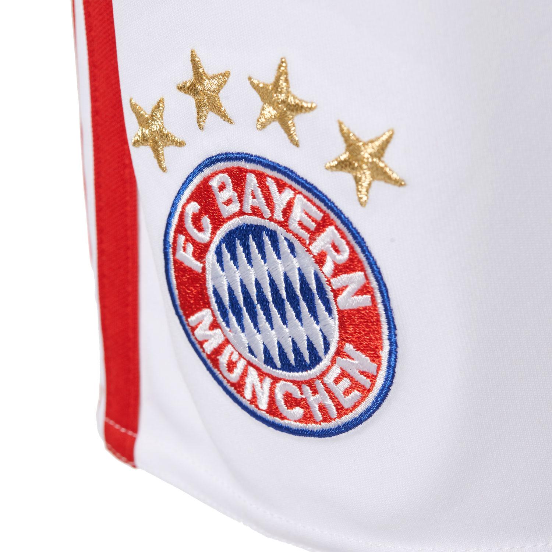 Adidas FCB Home Short FC Bayern Kinder Heim Short – Bild 4