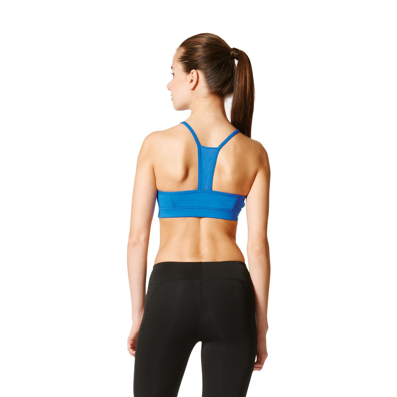 Adidas Strappy 3S Bra Damen Sport-BH – Bild 5
