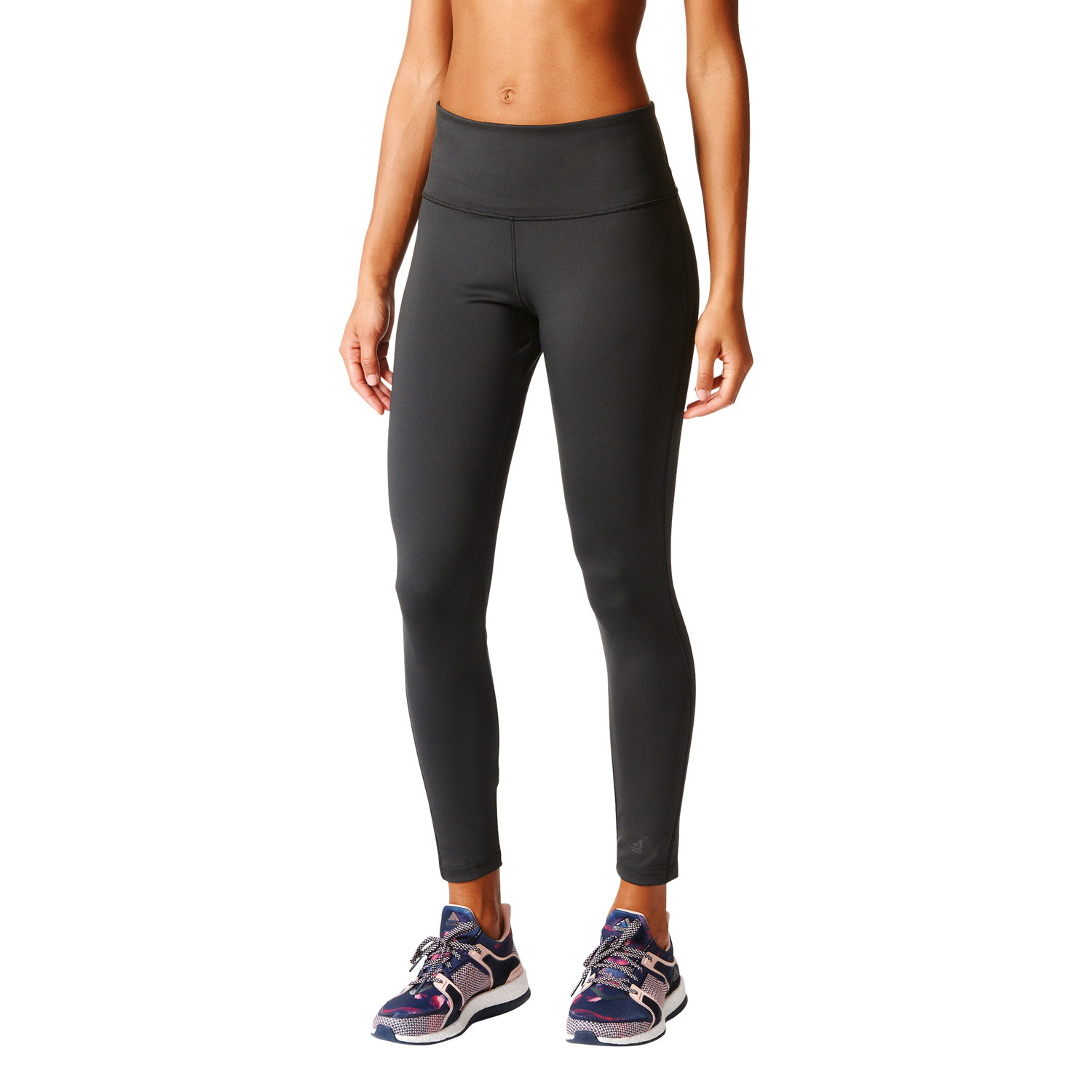 Adidas D2M Long Tight Damen Fitness Leggins – Bild 3