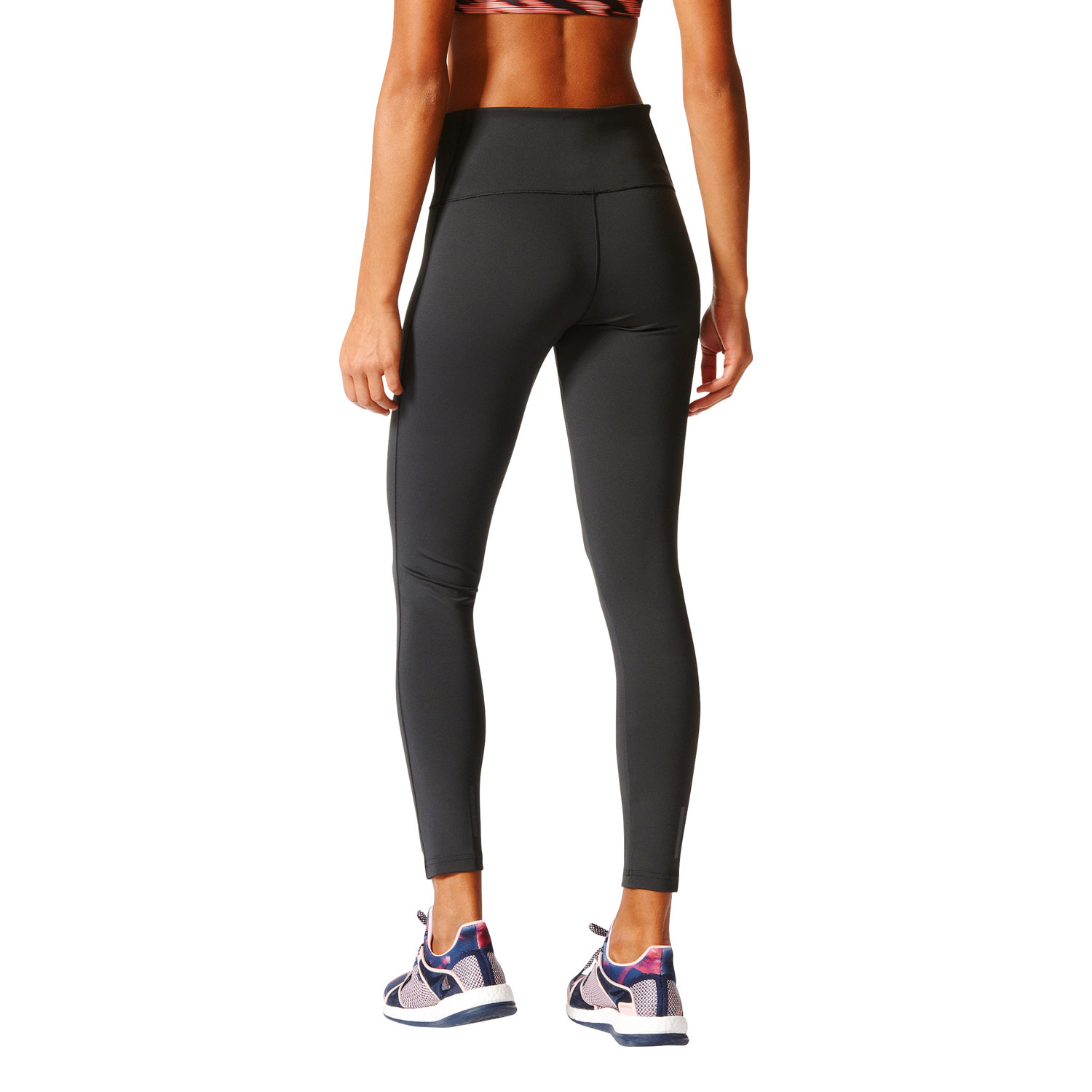 Adidas D2M Long Tight Damen Fitness Leggins – Bild 5