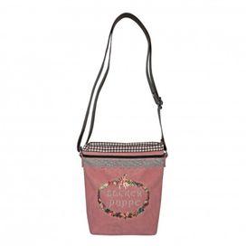 BLÜMCHEN & KO Handtasche Zuckerpüppchen rosa