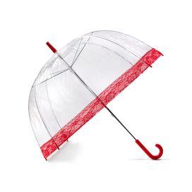 Lindy Lou Regenschirm Dome mit Spitze,rot