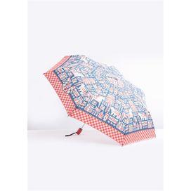 Blutsgeschwister, Regenschirm ciao bella ombrella, blau