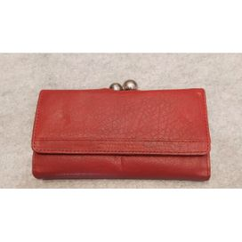 Sticks and Stones Geldbörse vintage Berlin Wallet, rot