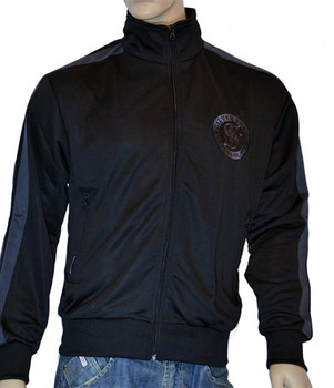 Silver Star Herren Trainingsjacke Coach Skynard in Schwarz