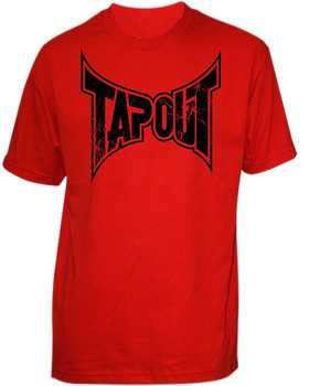 Tapout Herren T-Shirt Death Corps in Rot
