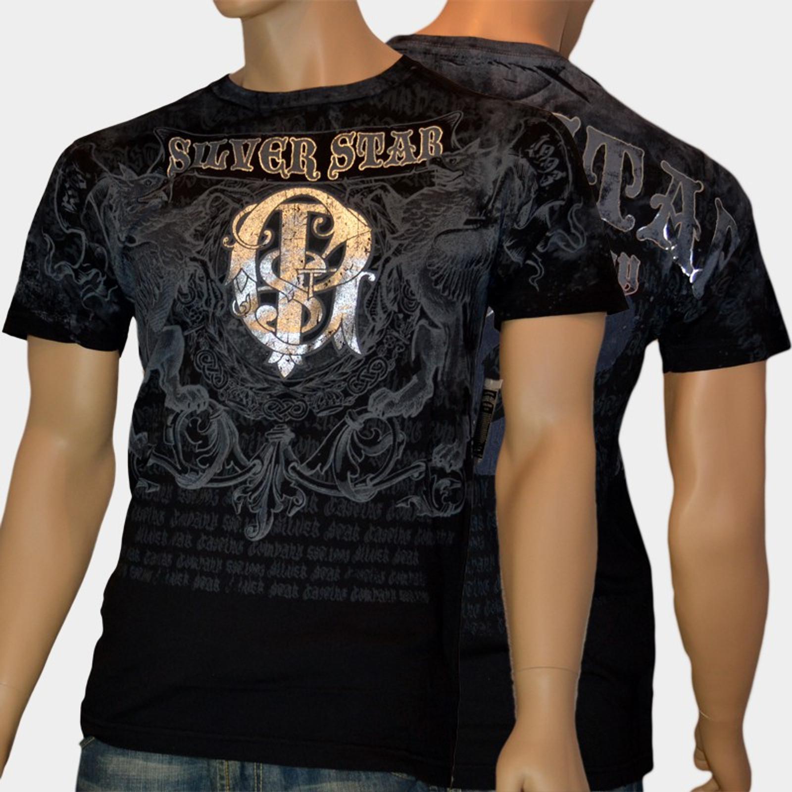 Silver Star T-Shirt Royalty