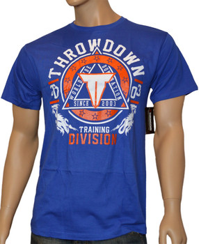 Throwdown Herren T-Shirt Avenge in Blau