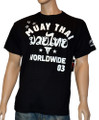 Throwdown T-Shirt Stripes Muay Thai 001