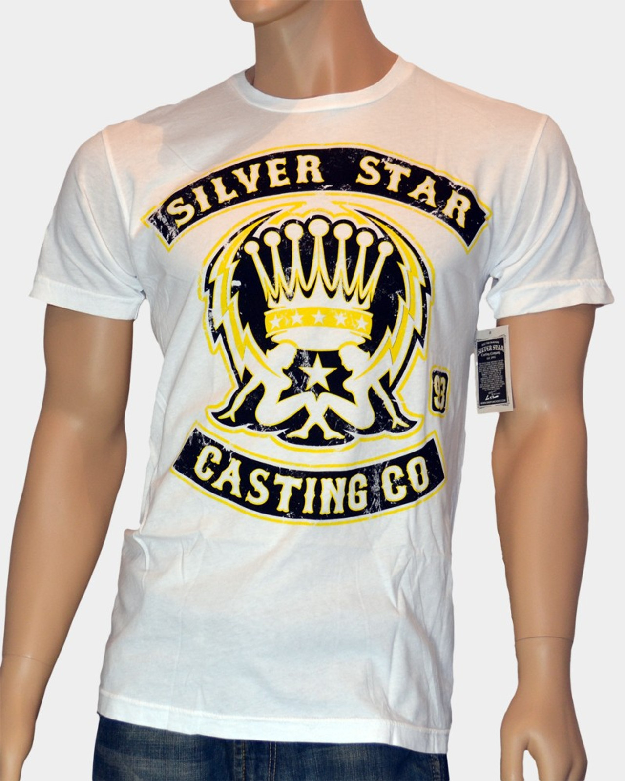 Silver Star T-Shirt Support
