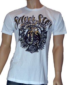 Silver Star T-Shirt Knockout