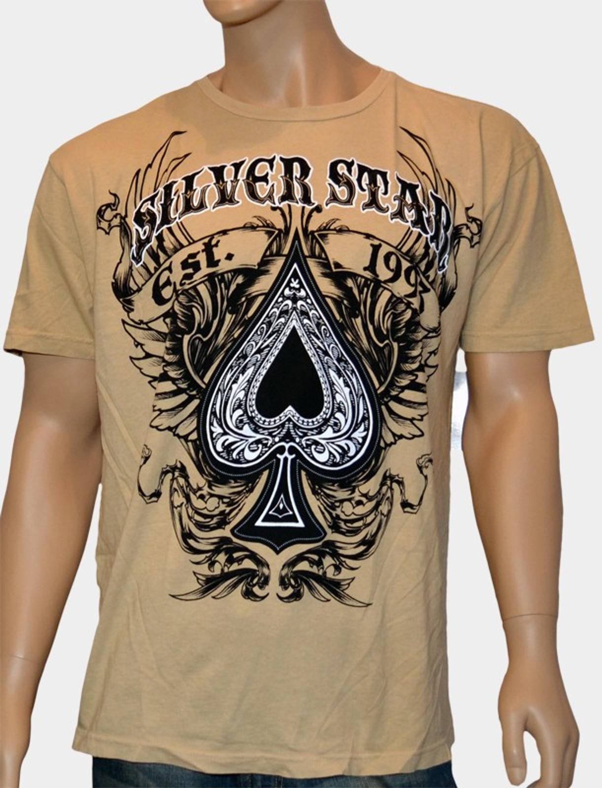 Silver Star T-Shirt Spaded