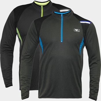 Bad Boy Fitness 1/2 Zip Long Sleeve Training Top