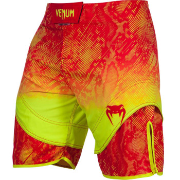 Venum Herren Fight Shorts Fusion in Orange-Gelb