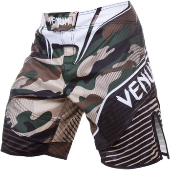 Venum Fight Shorts Hero in Grün-Braun