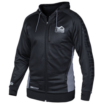 Phantom Athletics Zip-Hoodie Stealth in Schwarz