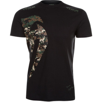 Venum Herren T-Shirt Original Giant in Camo Schwarz