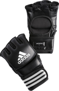 adidas MMA Handschuhe Ultimate Fight in Schwarz