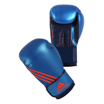 adidas Boxhandschuhe Speed 100 in Blau