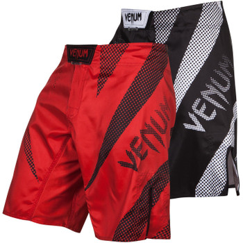 Venum Fight Shorts Jaws, Rot, Schwarz, VENUM-02700