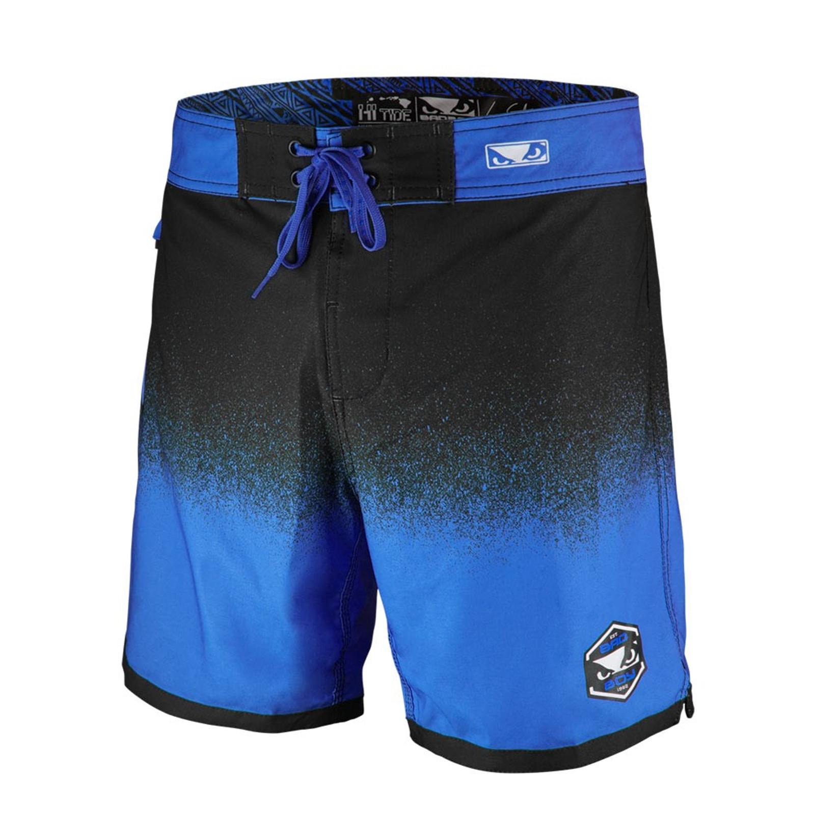 Bad Boy Herren Hi-Tide Hybrid Shorts in Blau