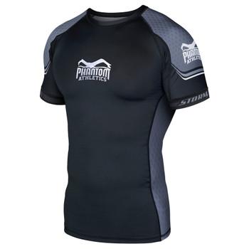 Phantom Athletics Herren Kurzarm Rashguard STORM Nitro