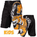 Venum Kids Fight Shorts Tiger King, schwarz, VENUM-03166 001