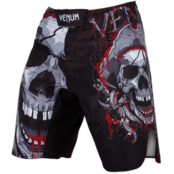 Venum Fight Shorts Pirate 3.0 in schwarz