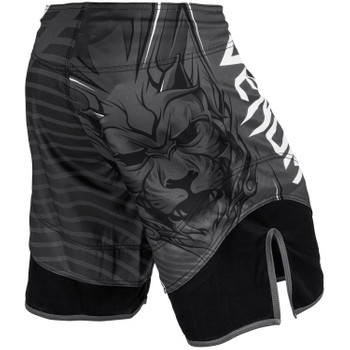 Venum Herren Fight Shorts Bloody Roar in Grey