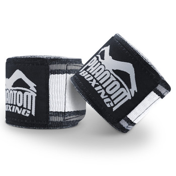 Phantom Athletics Boxbandagen MT-Pro in Schwarz-Weiss