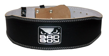 Bad Boy Weight Lifting Belt Gewichthebergürtel Leder