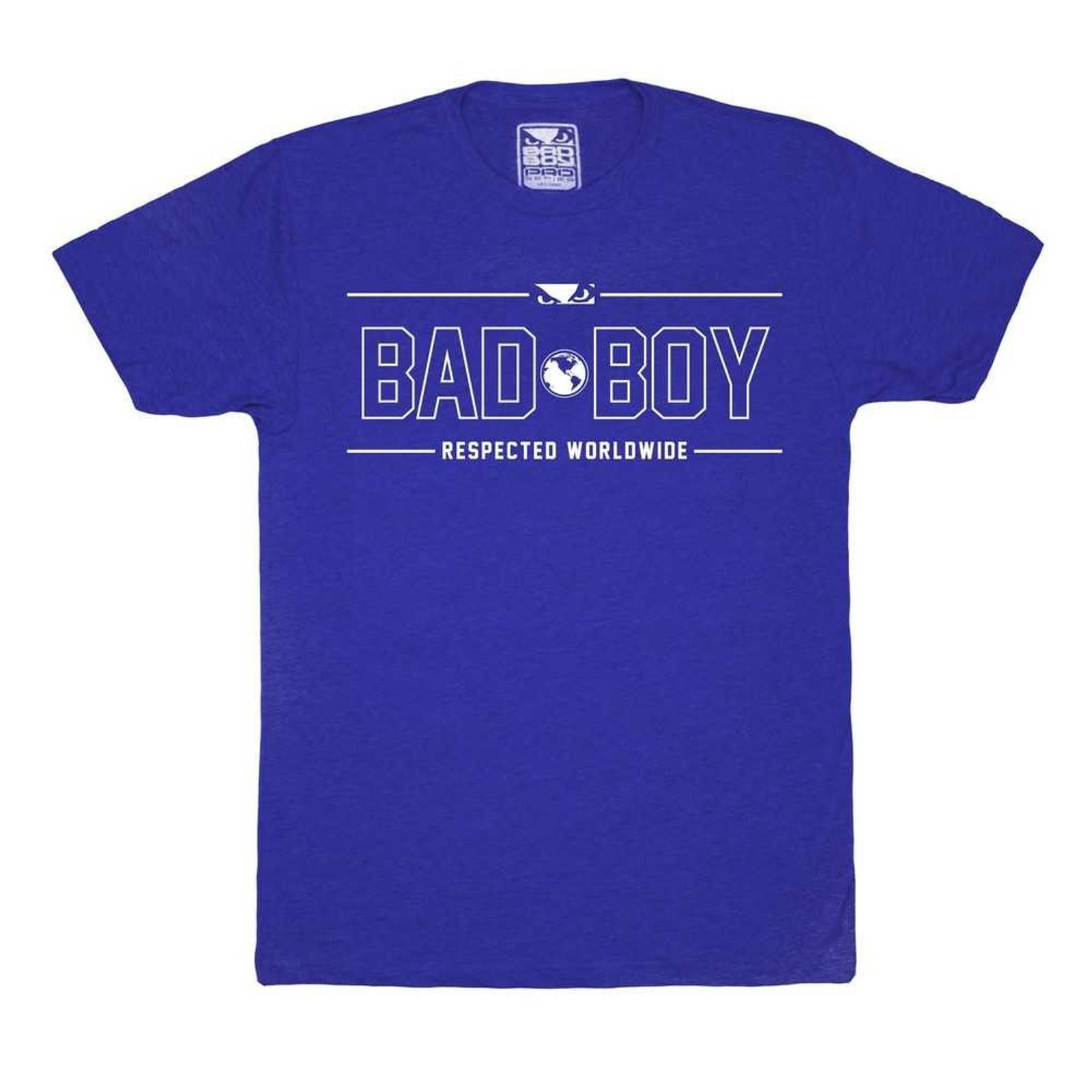 Bad Boy Herren T-Shirt International Contender in Blau