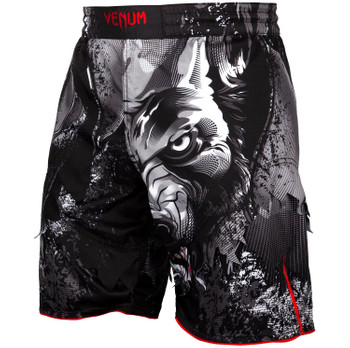 Venum Fight Shorts Werewolf in Schwarz-Grau