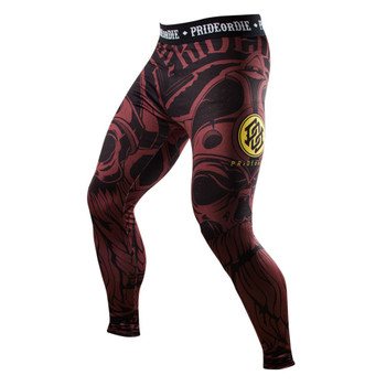 Pride Or Die Compression Pants Brotherhood