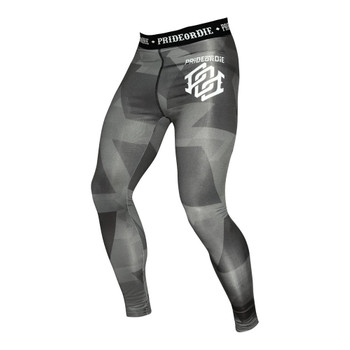 Pride Or Die Compression Pants Dark Matter
