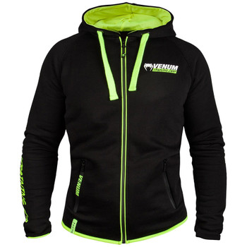 Venum Herren Zip-Hoody Training Camp in schwarz-neongelb
