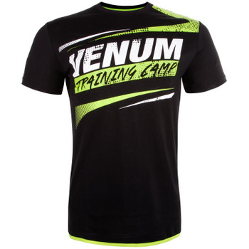 Venum Herren T-Shirt Training Camp in Schwarz