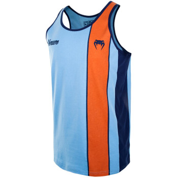 Venum Tank Top Cutback in Blau-Orange