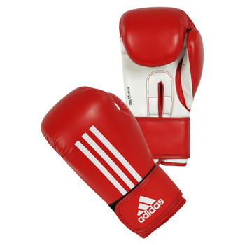 Adidas Boxhandschuhe Energy 100 in Rot-Weiss