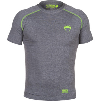 Venum Compression T-Shirt Contender 2.0 in Grau