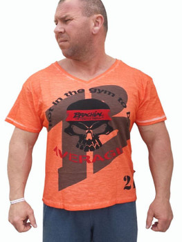 Brachial Herren T-Shirt Body in Orange