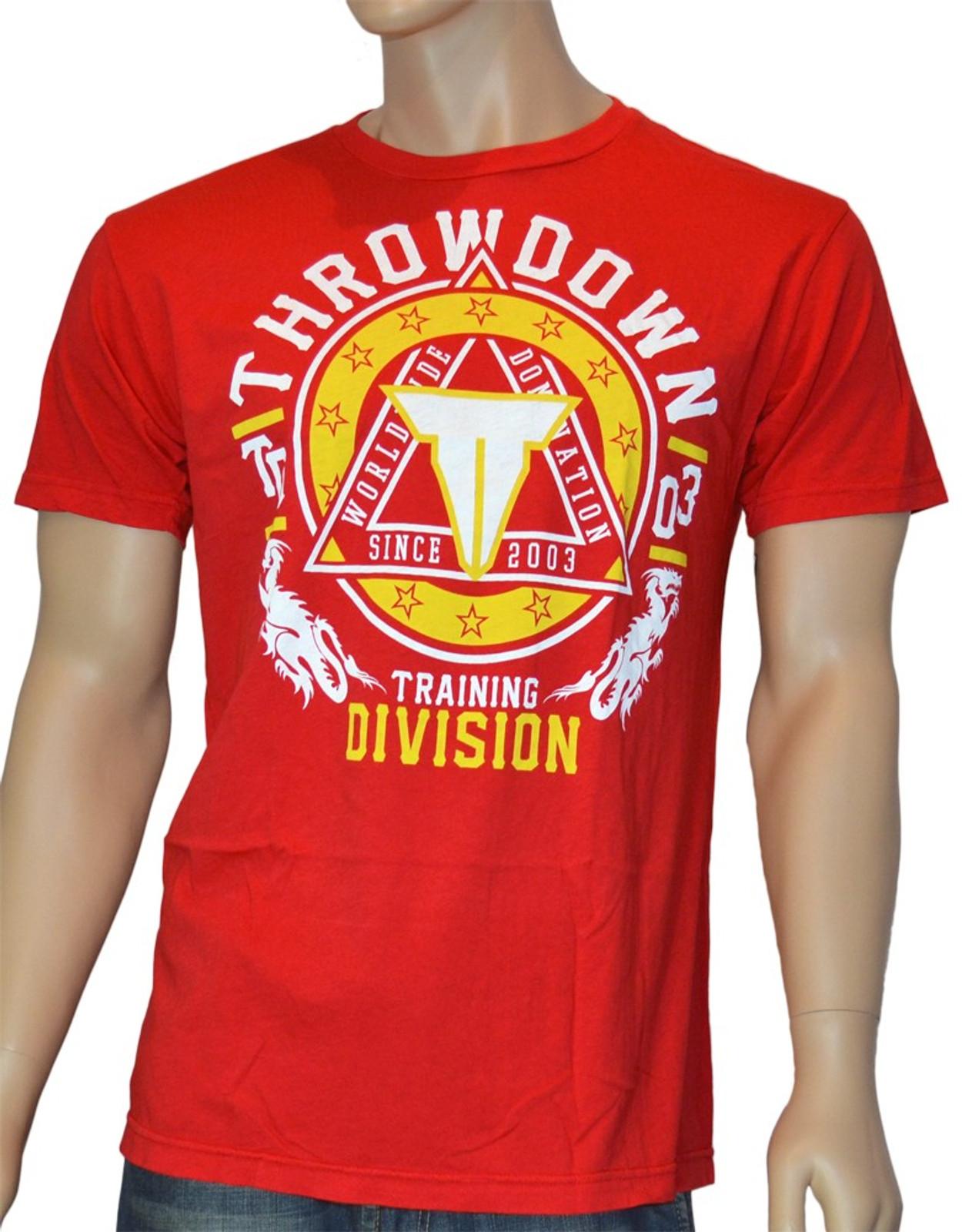 Throwdown Herren T-Shirt Avenge in Rot